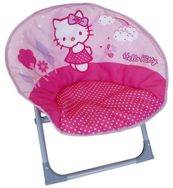 Hello Kitty Sessel Campingstuhl Klappstuhl Kindersessel Mondstuhl Moon Chair