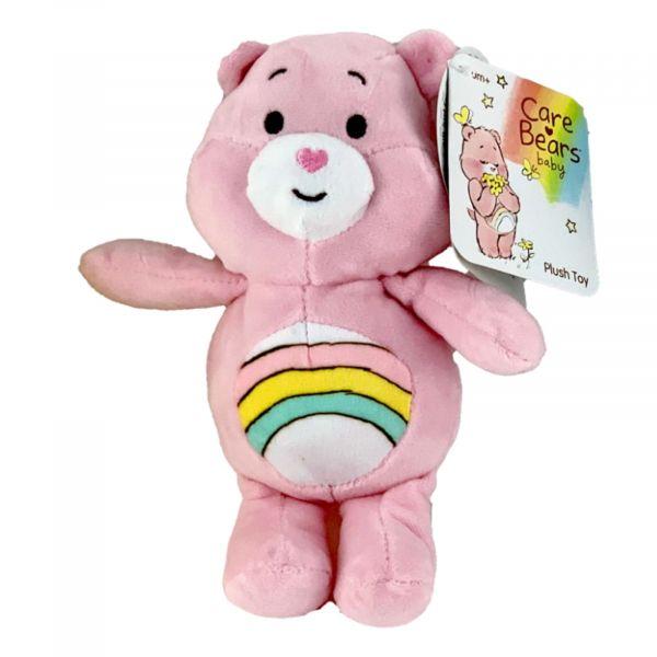 Glücksbärchis Care Bears Plüsch Kuscheltier 20 cm Regenbogenbärchen rosa