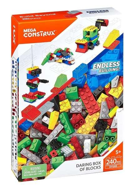 Mega Bloks Construx Bausteine-Set 2 (240 Teile)