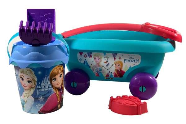 Smoby Frozen Handwagen mit Eimergarnitur Set1