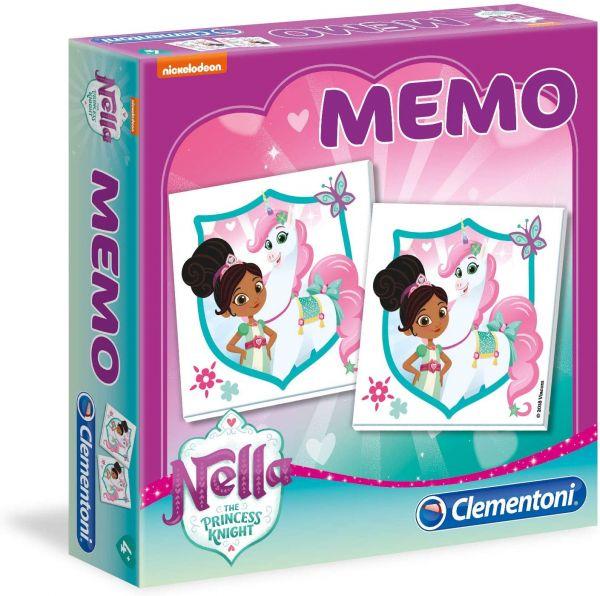 Clementoni Memory Nella mit 40 Paaren ab 4 Jahren Memo Spiel
