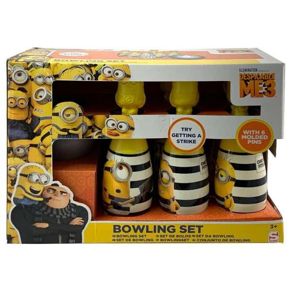 Bowling Set Minions Ich einfach unverbesserlich 3 für Kinder ab 3 Jahren