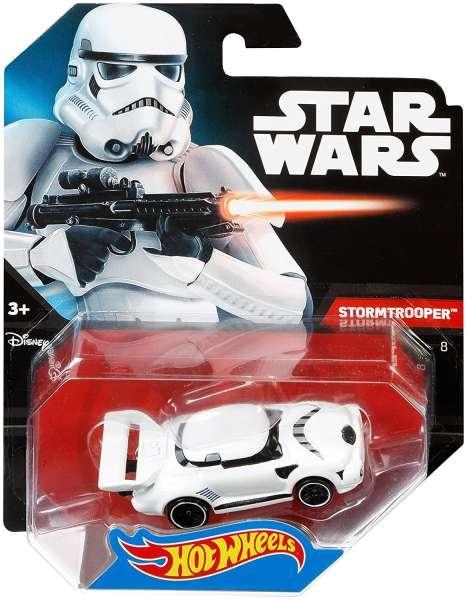 Hot Wheels Star Wars Fahrzeug Stormtrooper Character Car
