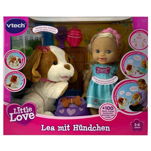 Vtech 80-197504-Little Love-Lea mit Hündchen