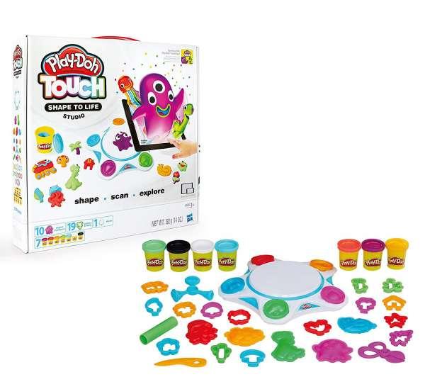 Hasbro Play-Doh C2860100 - Touch Digital Studio Knete Knetset deutsche Version