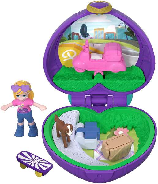 Polly Pocket FRY30-Tiny Places Schatulle Pollys Picknick