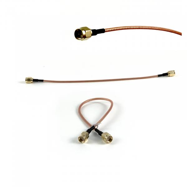 Pigtail SMA-Stecker/SMA-Stecker 30cm RG316 hochwertig einzeln geprüft