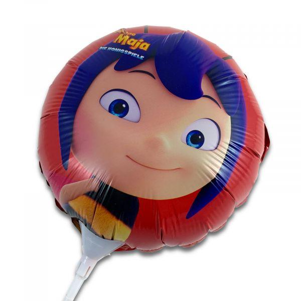 Folienballon Die Biene Maja Honigspiele rot Geburtstag Feste Party Luftballon