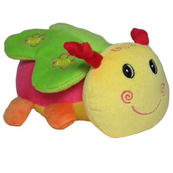Baby-Rassel, Greifling, Kuscheltier, Schmetterling