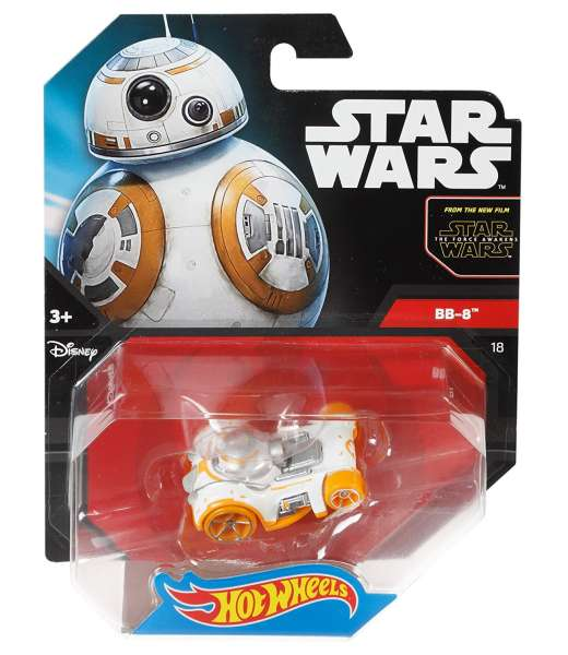 Hot Wheels Star Wars Fahrzeug BB 8 Droide Episode 7