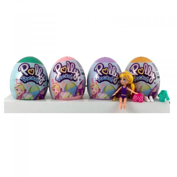 Polly Pocket Überraschung im Ei zum sammeln und spielen 4er Set