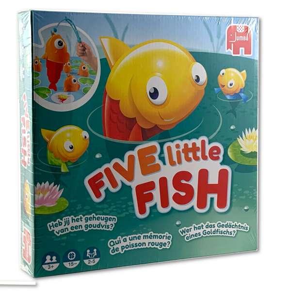 Five Little Fish Fünf kleine Fische Angel und Konzentrationsspiel ab 3 Jahren