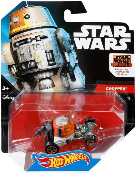 Hot Wheels Star Wars Rebels Chopper Character Car