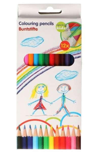 12er Pack Buntstifte, Farbstifte, Malstifte