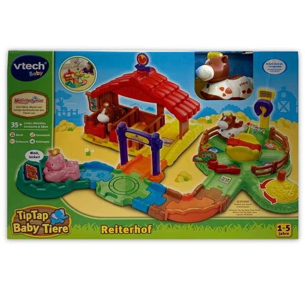 VTech Baby 80-180604 - Tip Tap Tier - Reiterhof Lernspielzeug mit Sound