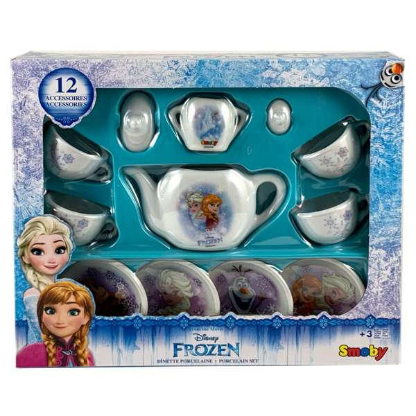 Disney 12-tlg Kinder Porzellan Teeservice Kaffeeservice Frozen