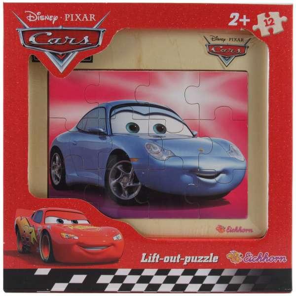 Disney CARS Holzpuzzle von Eichhorn 12 tlg. - Sally Carrera