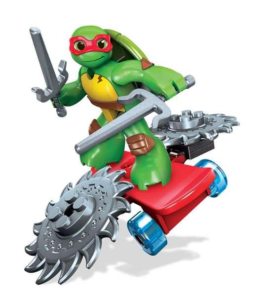 Mega Bloks - Teenage Mutant Ninja Turtles Figur Raph -Skateboard