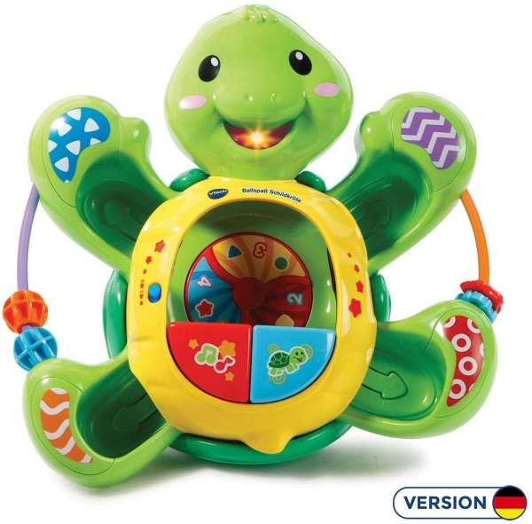 VTech Baby 80-506104 - Ballspaß Schildkröte Motorikspielzeug