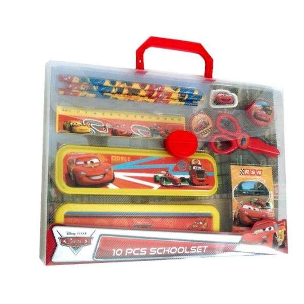 Disney Schreibset Cars mit Stiften, Box, Radiergummi, uvm.