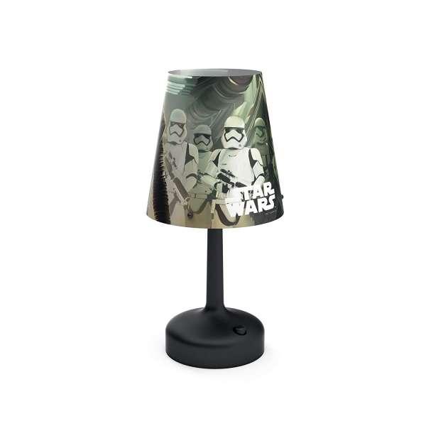 Philips LED Nachttischlampe Nachttischleuchte Kinderzimmer Star Wars 1 Kabello