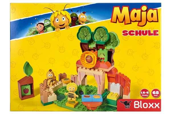 BIG 800057131 - BIG-Bloxx Biene Maja Schule Bausteine-Set ab 18 Monaten