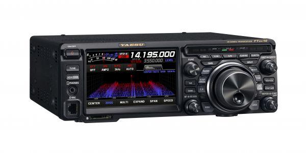 FTDX10 - kompakter HF/50MHz 100W SDR-Transceiver
