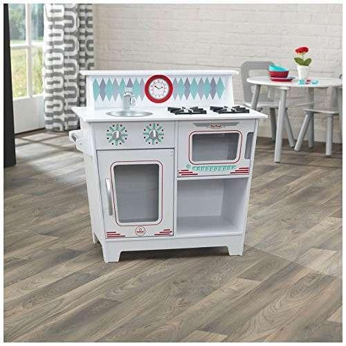 KidKraft 53384 Spielküche weiß für Kinder Kinderküche