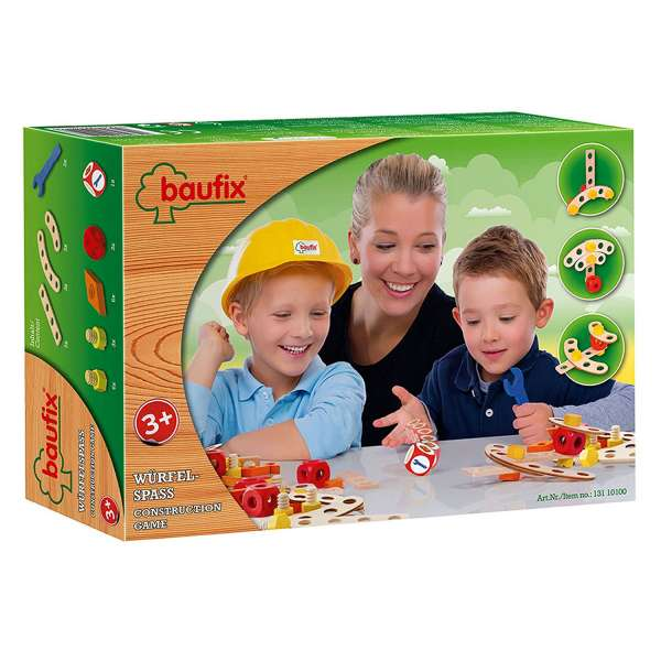Baufix Würfel Spaß, Bauset als Würfelspiel, Construktionsspiel