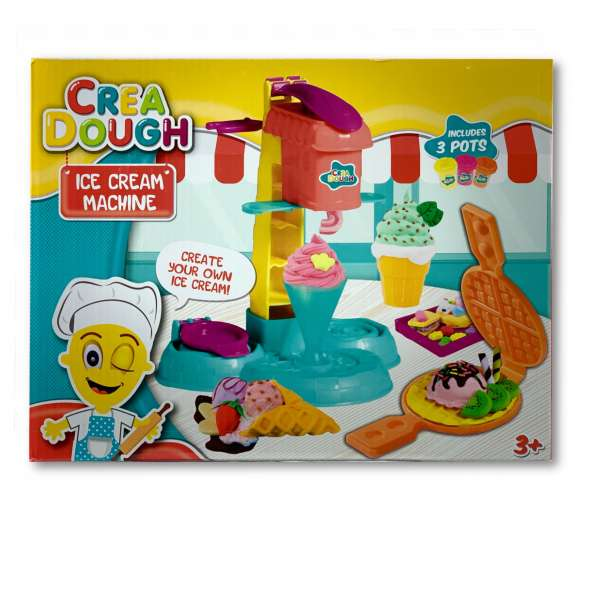 Crea Dough Eis Maschine Knete Kinderknete Ice Cream