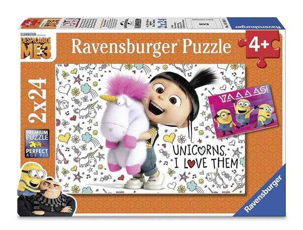 Ravensburger 078110 Agnes und die Minions Kinderpuzzle Puzzle