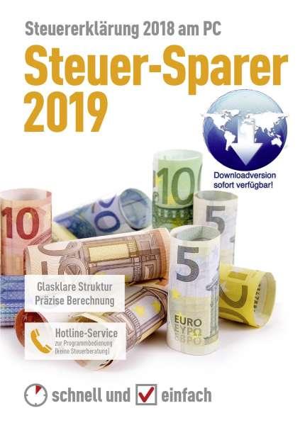 Steuer-Sparer 2019 (Download) für die Steuererklärung 2018