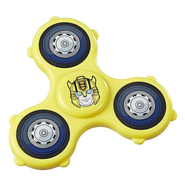 Transformers Bumblebee Spinner Hasbro Fidget Hand Spinner
