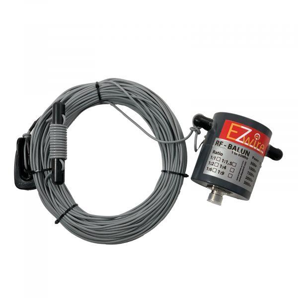 EZ-Wire EFHW Antenne 80m-10m kein Tuner erforderlich