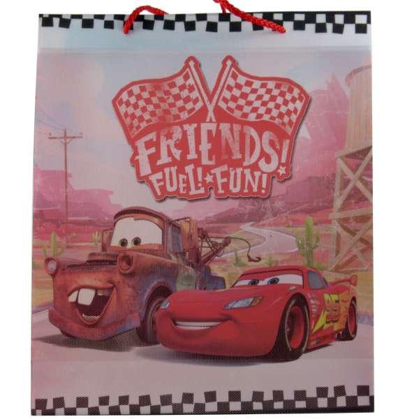 Geschenktasche, Geschenktüte, Einkaufstasche Tasche von Disney Cars