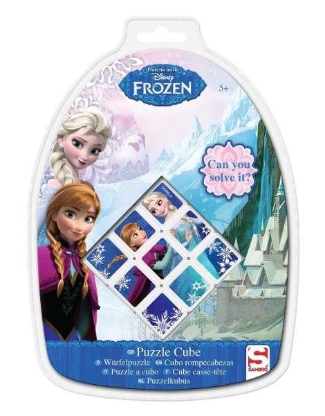 Disney Frozen Puzzle Würfel, Würfelpuzzle