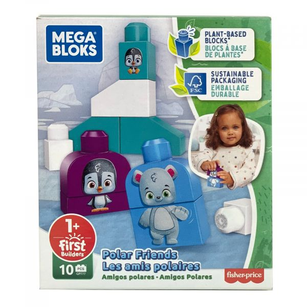 Mega Bloks Polarfreunde ab 1 Jahr Bausteine aus pfanzlichen Stoffen