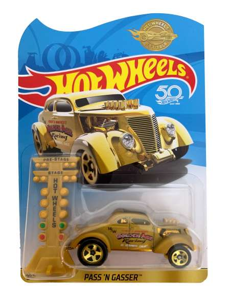 Hot Wheels Pass 'n' Gasser Auto Bronze
