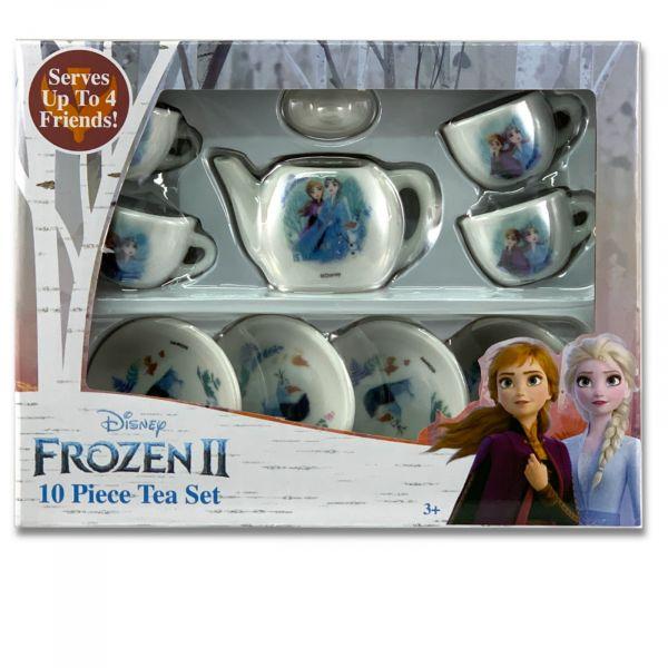 10-tlg Kinder Porzellan Teeservice Kaffeeservice Frozen 2 Die Eiskönigin