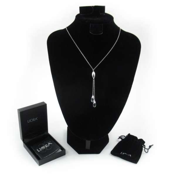 Liora Marquise Halskette mit Swarovski Elementen