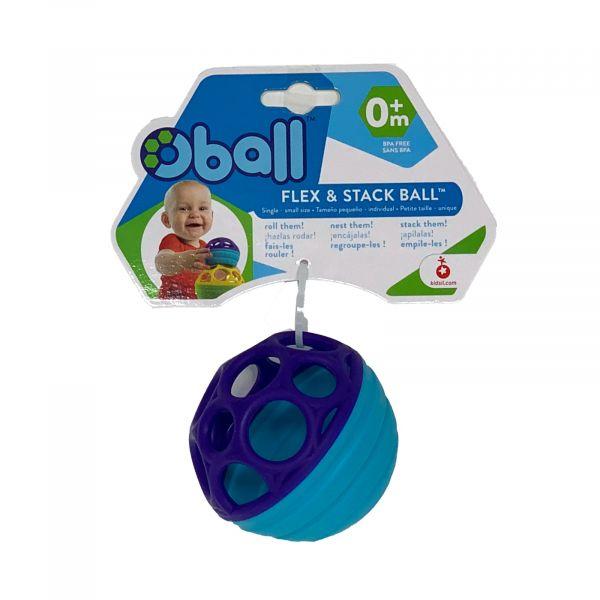 Oball Flex & Stack Ball flexibel und leicht greifbar Motorikspielzeug