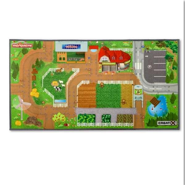 Spielteppich Farm Bauernhof für Kinder