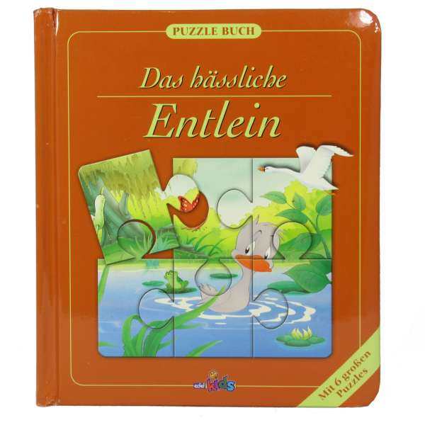 Puzzlebuch - Das hässliche Entlein - Mit 6 Puzzels