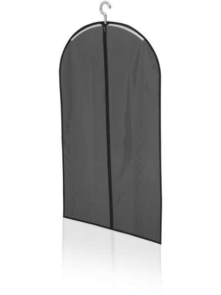 Kleiderhülle schwarz Leifheit 105cmx60cm super Qualität transparente Vorderseite