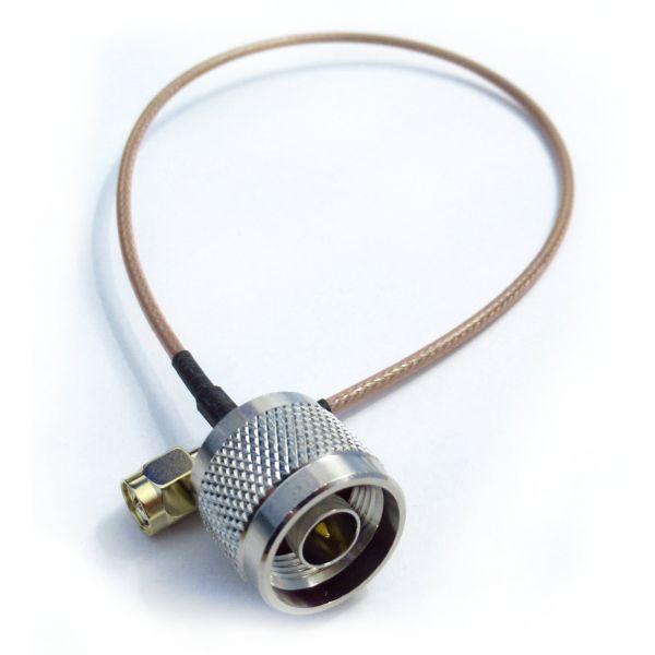 Pigtail N-Stecker / SMA-Stecker 30cm RG316 hochwertig einzeln geprüft