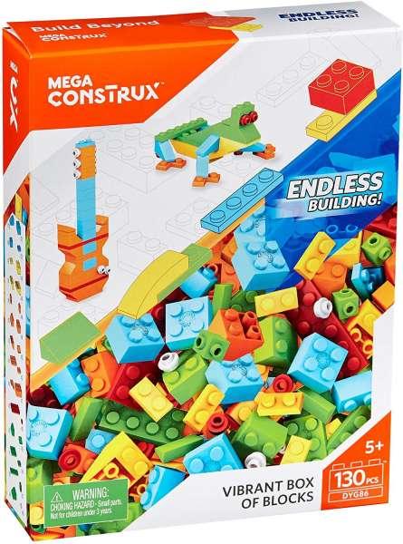 Mega Bloks Construx Bausteine-Set 4 (130 Teile) DYG86