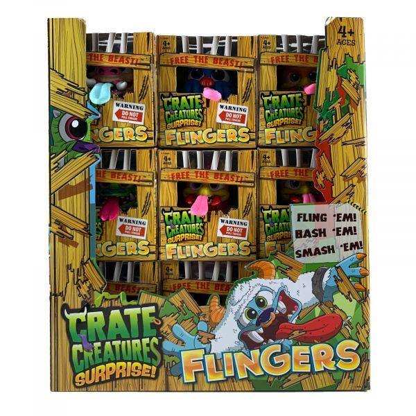 Crate Creatures Surprise Flingers Entfessle das Biest
