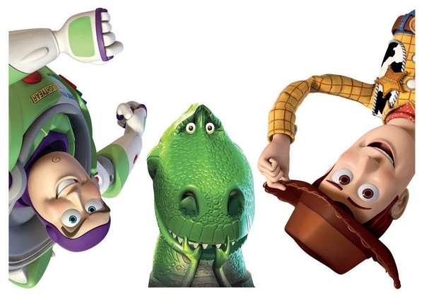 Toy Story Sticker für die Tür Dekoration Kinderzimmer