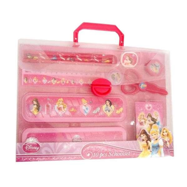 Disney Schreibset Princess mit Stiften, Box, Radiergummi, uvm.
