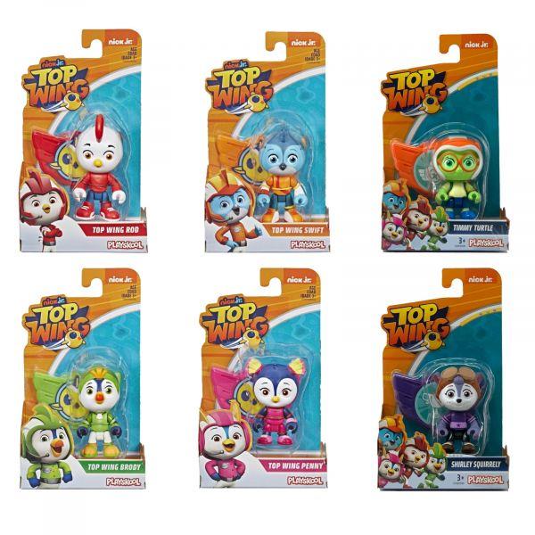 Playskool TOP Wing Action Figur mit Abzeichen zum Spielen und Sammeln